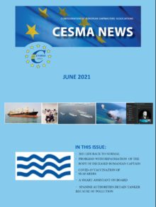 CESMA NEWS COVER JUNE 2021